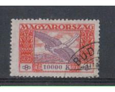 1924 - LOTTO/4799 - UNGHERIA - 10.000 Kr. POSTA AEREA
