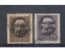 BAVIERA - 1919 - LOTTO/4810 - 1 e 2 MARCHI