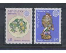 1976 - LOTTO/4898A - MONACO - EUROPA 2v.