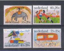 1976 - LOTTO/8900 - OLANDA - PRO INFANZIA 4v.