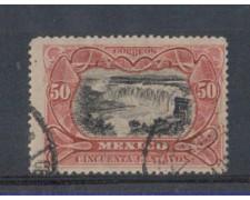 1902 - LOTTO/4983 - MESSICO - 50c. CASCATE JUNACATLAN