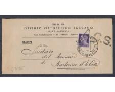 1945 - LOTTO/502 - FIRENZE PIEGHEVOLE PER BARBERINO D'ELSA