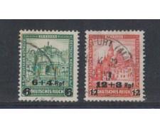 1932 - LOTTO/5117 - GERMANIA - BENEFICENZA SOPRASTAMPATI