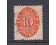1927 - LOTTO/5123 - GERMANIA REICH - 10p. ROSSO SERVIZIO