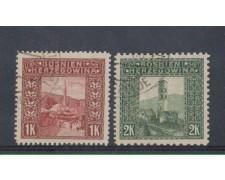 1906 - LOTTO/5174 - AUSTRIA - BOSNIA ERZEGOVINA - VEDUTE 2v.