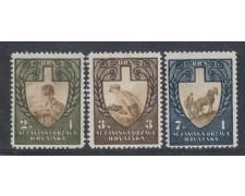 1943 - LOTTO/5184 - CROAZIA - A PROFITTO DEL LAVORO