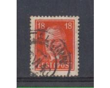 1936/40 - LOTTO/5191 - ESTONIA - 18s. CARMINIO