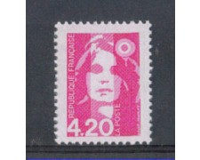 1992 - LOTTO/FRA2763N - FRANCIA - 4,20 Fr. MARIANNA DEL BICENTENARIO 1v. NUOVO