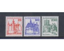 1978 - LOTTO/5271 - GERMANIA FEDERALE - CASTELLI e FORTEZZE 3v.