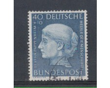 1954 - LOTTO/5281 - GERMANIA FEDERALE - 40+10p. B.PAPPENHEIM