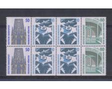1991 - LOTTO/5328 - GERMANIA FEDERALE - MONUMENTI CELEBRI BLOCCO