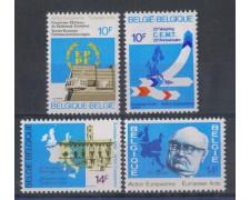 1978 - LOTTO/5346 - BELGIO - AZIONE EUROPEA 4v. - NUOVI
