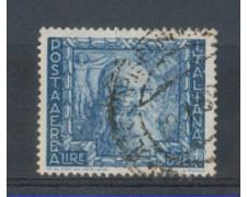 1938 - LOTTO/REGA114U - REGNO - 2 L. AEREA - PROCLAM. IMPERO - U