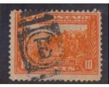 1913 - LOTTO/USA275U  STATI UNITI -10c. PANAMA PACIFIC - USATO
