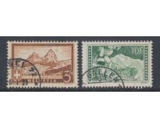 1930 - LOTTO/5635 - SVIZZERA - VEDUTE 2v. - USATI