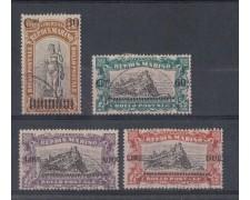 1924 - LOTTO/5647 - S.MARINO - PRO COMBATTENTI SOPRASTAMPATI 4v. USATI