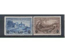 1936 - LOTTO/5652 - S. MARINO - S.FRANCESCO SOPRASTAMPATI 2v. LING.