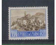 1949 - LOTTO/5654 - S.MARINO - 20 LIRE PAESAGGI