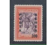 1948 - LOTTO/5665 - S.MARINO - POSTA AEREA 200 SU 25 L.
