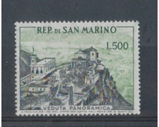 1958 -  LOTTO/5671 - SAN MARINO - 500 LIRE VEDUTA PANORAMICA 1v. NUOVO