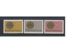 1966 - LOTTO/9811 - PORTOGALLO - CIVILTA' CRISTIANA 3v.