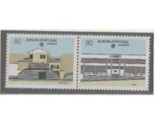 1990 - LOTTO/676 -  MADERA  - EUROPA 2v.
