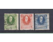 1925 - LOTTO/720 - LIECHTENSTEIN - 85° COMPLEANNO PRINCIPE