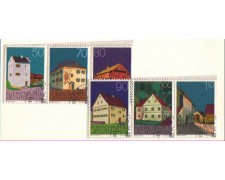 1978 - LOTTO/724 -  LIECHTENSTEIN - EDIFICI - USATI