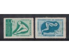 1958 - LOTTO/801  - URUGUAY - NUOTO