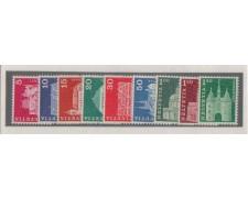 1968 - LOTTO/880  SVIZZERA - EDIFICI STORICI 9v. - NUOVI