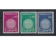 1970 - LOTTO/886 -   MONACO - EUROPA