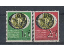 1951 - LOTTO/958A - GERMANIA FEDERALE - ESPOS. WUPPERTALL 2v.