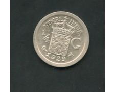 1929 - INDIE OLANDESI - LOTTO/M16082 - 1/4 DI GULDEN ARGENTO