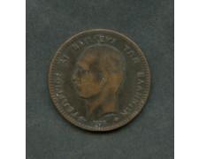 1878 - LOTTO/M16095 - GRECIA - 10 LEPTA RE GIORGIO I°