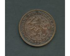 1929 - OLANDA - LOTTO/M16106 - 2,5 CENTESIMI  BRONZO