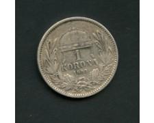 1893 - LOTTO/M16113 -  1 KORONA  ARGENTO F. GIUSEPPE