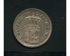 1869 -  LOTTO/M16116 - GERMANIA BAVIERA - 1 KREUZER ARGENTO