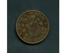 1878 - LOTTO/M16154 -SPAGNA - 10 CENTIMOS   ALFONSO XII°