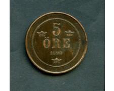 1890 - LOTTO/M16158 - SVEZIA - 5 ORE OSCAR II°