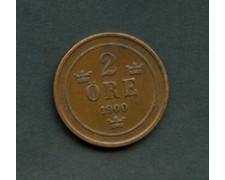 1900 - LOTTO/M16159 - SVEZIA - 2 ORE  OSCAR II°