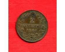 1900 - LOTTO/M16673A - REGNO - 2 CENTESIMI UMBERTO I°