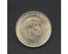 1966 - LOTTO/M17764 - SPAGNA - 100 PESETAS F.FRANCO ARGENTO