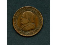 1867 - LOTTO/M18642 - 1 SOLDO PIO IX° DATA GRANDE