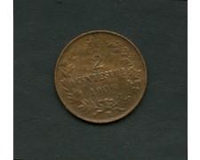 1906 - LOTTO/M1991 - REGNO  - 2 CENTESIMI V. EMANUELE III°