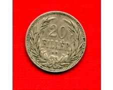 1893 - LOTTO/M20697 - UNGHERIA - 20 FILLER