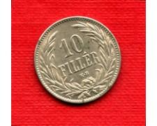1894 - LOTTO/M20702 - UNGHERIA - 10 FILLER