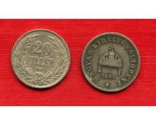 1894 - LOTTO/M20703 - UNGHERIA - 20 FILLER