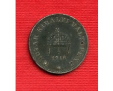 1916 - LOTTO/M20717 - UNGHERIA - 20 FILLER FERRO