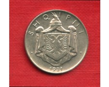 1931L - LOTTO/M20761 - ALBANIA - 1/2 LEK NICKEL