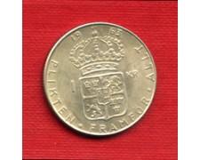 1963 - LOTTO/M20768 - SVEZIA - 1 KORONA ARGENTO
